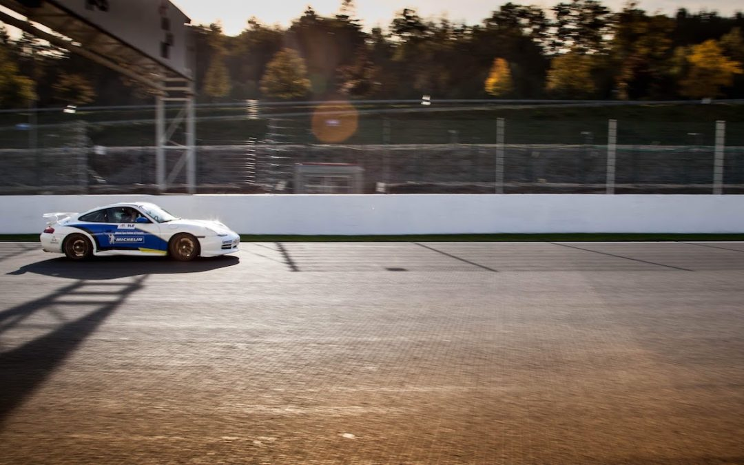 In the fast lane at Spa-Francorchamps